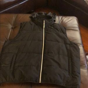 Sean John puffer vest with hood